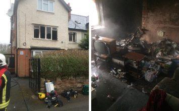 Fire Crews Tackle Kings Heath House Fire
