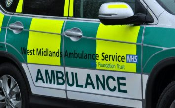 Car Rolls After Lamppost Collision In Druids Heath