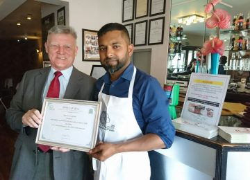 Local restaurant impresses judges in Tiffin Cup competition