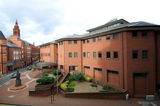 Birmingham Crown Court where Trevor Tulloch was sentenced