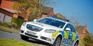 West Midlands Police response car