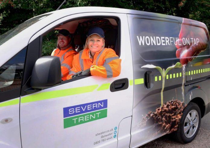 Severn Trent New Nissan Van