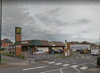 McDonald's in Yardley Wood on School Road